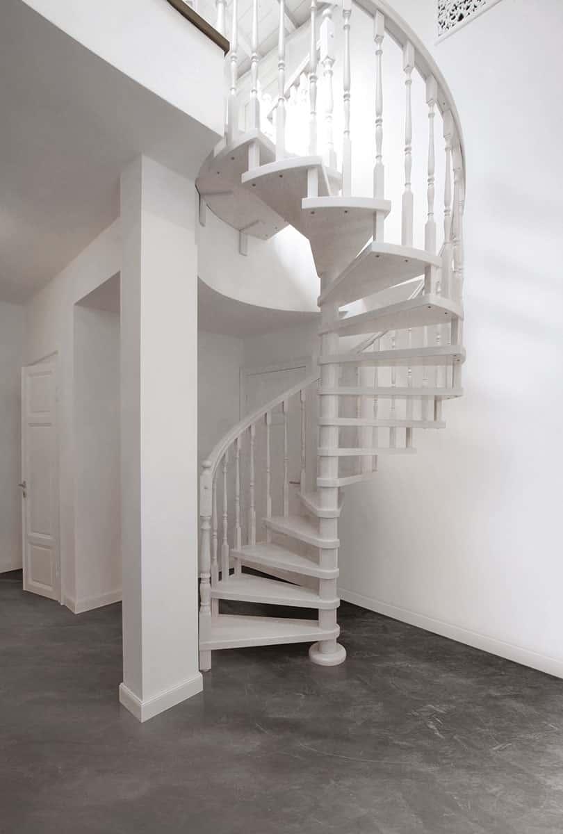 Scale A Chiocciola Moderne scale a chiocciola di design realizzate a misura   newliving